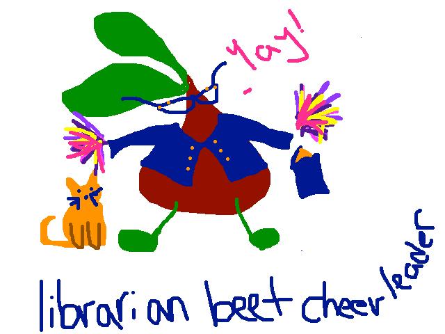 beetlibrariancheerleader